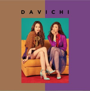 "Album art for Davichi's album ""50 x Half"""