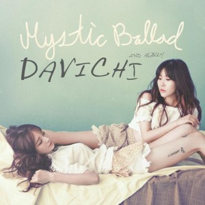 "Album art for Davichi's album ""Mystic Ballad"""