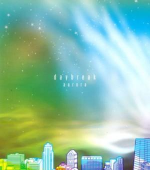 """Album art for Daybreak's album """"Aurora"""""""