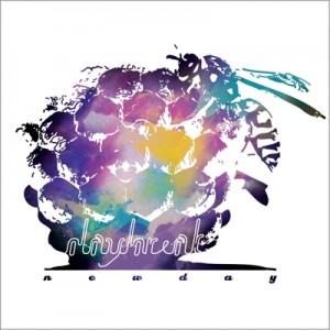 "Album art for Daybreak's album ""New Day"""