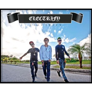 """Album art for Electroboyz's album """"Electrify"""""""