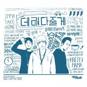 "Album art for Electroboyz's album ""Imma Take You Home"""