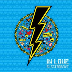 "Album art for Electroboyz's album ""In Love"""