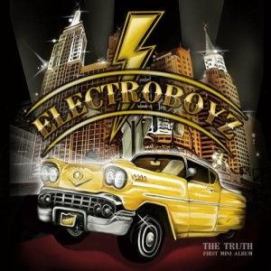 "Album art for Electroboyz's album ""The Truth"""