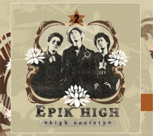 "Album art for Epik High's albm ""High Society"""