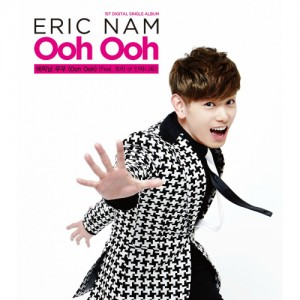 "Album art for Eric Nam's album ""Ooh Ooh"""