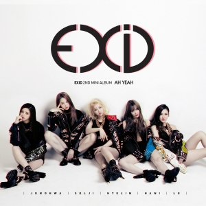 "Album of for EXID's album ""Ah Yeah"""