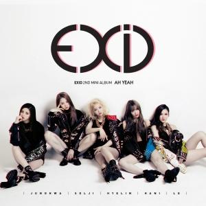 """Album of for EXID's album """"Ah Yeah"""""""