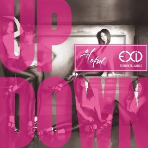 """Album art for EXID's album """"Down"""""""