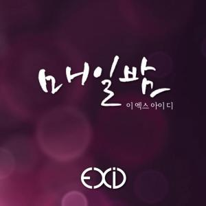 "Album art for EXID's albm ""Every Night"""