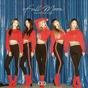 "Album art for EXID's album ""Full Moon"""