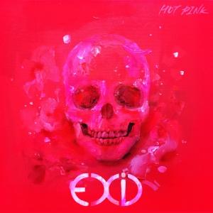 """Album art for EXID's album """"Hot Pink"""""""