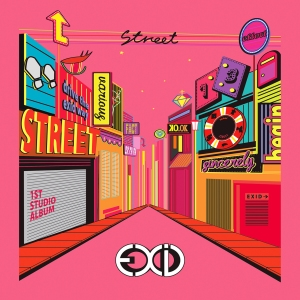 "Album art for EXID's album ""Street"""