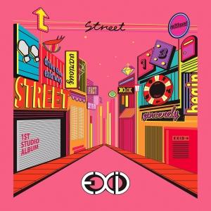 """Album art for EXID's album """"Street"""""""