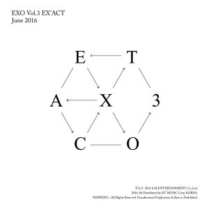 "Album art for EXO's album ""EX'ACT"""