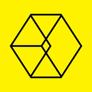 "Album art for EXO's album ""Love Me Right"""
