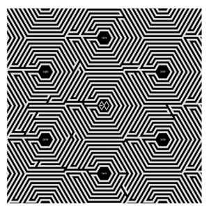 "Album art for EXO's album ""Overdose"""