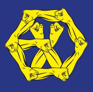 "Album art for EXO's album ""The Power Of Music"""