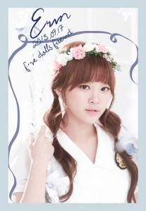 "F-VE Dolls' Eunkyo ""First Love"" promotional picture."
