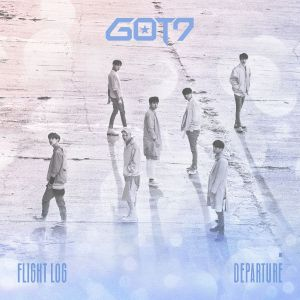 "Album art for GOT7's album ""Flight Log Departure"""