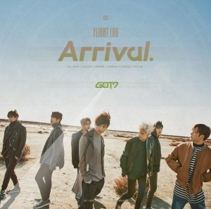 "Album art For GOT7's album ""Flight Log: Arrival"""