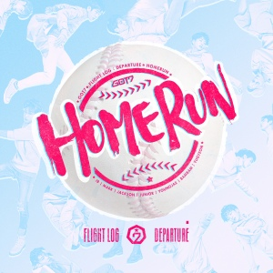 "Album art for Got7's album ""Home Run"""