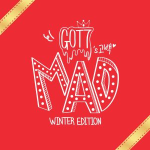"Album art for Got7's album ""Mad (Winter Edition)"""