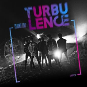 "Album art for GOT7's album ""Flight Log: Turbulence"""