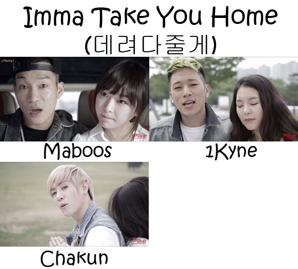 "The Members of Electroboyz in the ""Imma Take You Home"" MV"