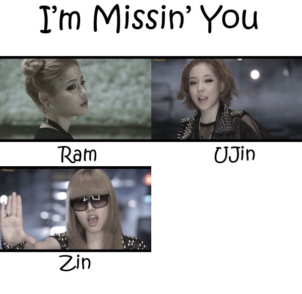 "The members of D-Unit in the ""I'm Missin' You"" MV"