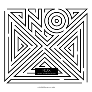 "Album art for Jaejoong (JYJ)'s album ""NO.X"""