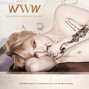 "Album art for Jaejoong's album ""WWW"""