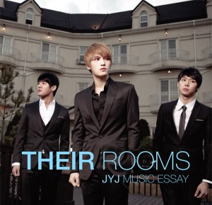"Album art for JYJ's album ""Their Rooms: The Essays"""