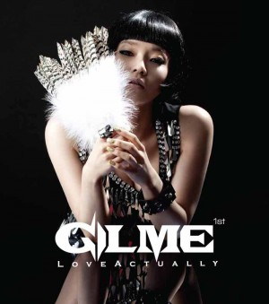 "The album art for Gilme's album ""Love Actually"""