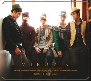 "Album art for TVXQ's album ""Mirotic"""