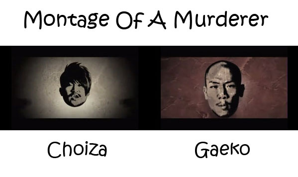"The members of Dynamic Duo in the ""Montage Of A Murderer"" MV"