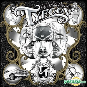 "Album art for Mr. Tyfoon's album ""Mi Vida Payaso"""