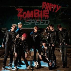 """Album art for SPEED's album """"Zombie Party"""""""