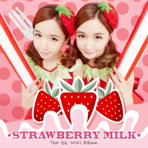 Album art for Strawberry Milk's 1st Mini Album