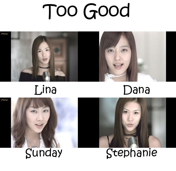 "The members of CSJH The Grace in the ""Too Good"" MV"