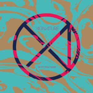 """Album art for Xia Junsu's album """"Xignature"""""""