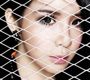 "2NE1's Bom promotional picture for ""Crush"""