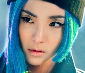 "2NE1's Dara promotional picture for ""Crush"""