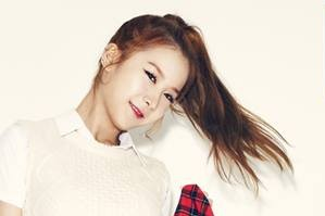 "Fiestar's Cheska ""Curious"" promotional picture."