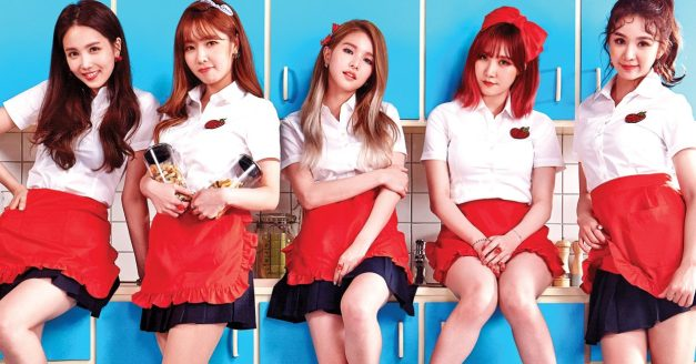 "Fiestar's ""Apple Pie"" promotional picture."