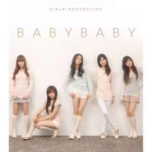 "Album art for Girl's Generation's album ""Baby Baby"""