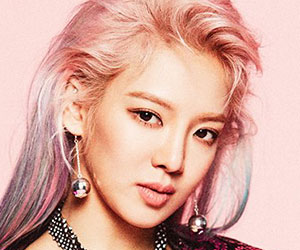 "Girls' Generation's [SNSD] Hyoyeon promotional picture for ""Holiday Night"""