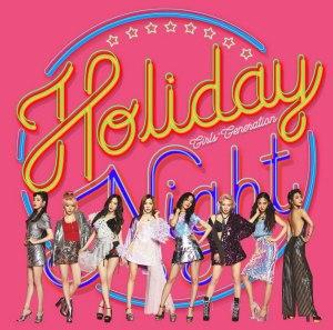 "Album art for Girls' Generation's album ""Holiday Night"""