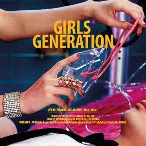 """Album art for Girls' Generations albm """"Mr. Mr."""""""