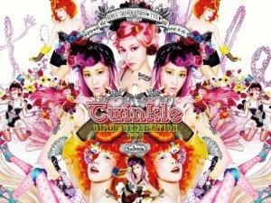 """Album art for Girls' Generation's sub-unit TaeTiSeo's album """"Twinkle"""""""